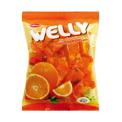 Kẹo Welly hương Cam 90 gam
