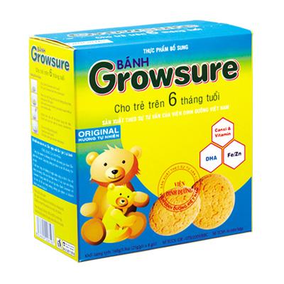 Bánh Growsure hương Tự Nhiên 168 gam