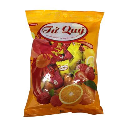 Kẹo hương Trái cây nhân Tứ Quý 140 gam
