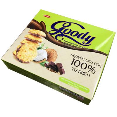 Bánh Cookies Dừa phủ Sôcôla 238 gam
