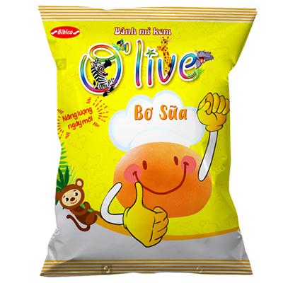 Bánh mì kem Bơ sữa OLIVE 35 gam
