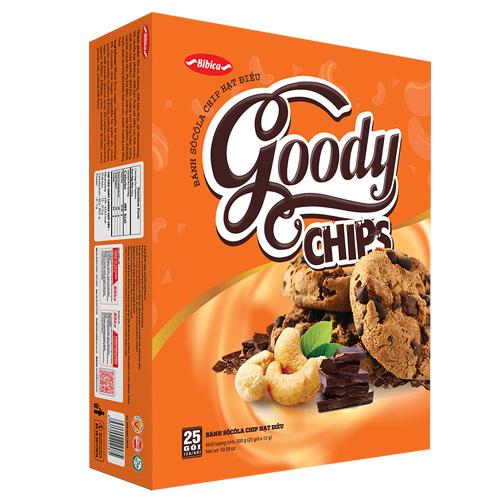 Bánh Goody Chip Điều 300 gam