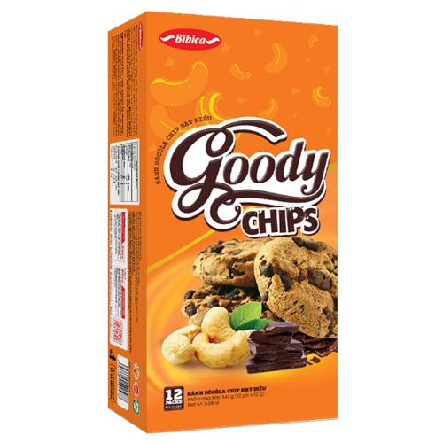 Bánh Goody Chip Điều 144 gam