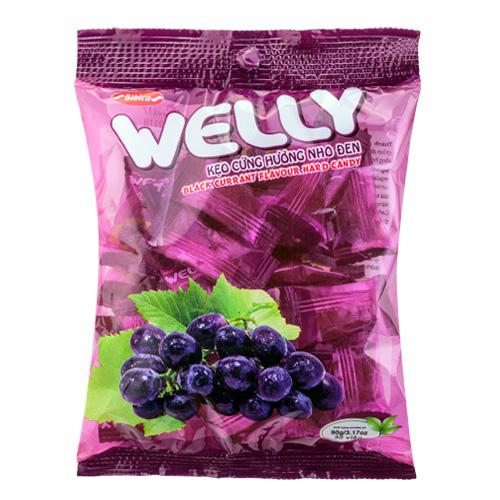 Kẹo Welly hương Nho đen 90 gam