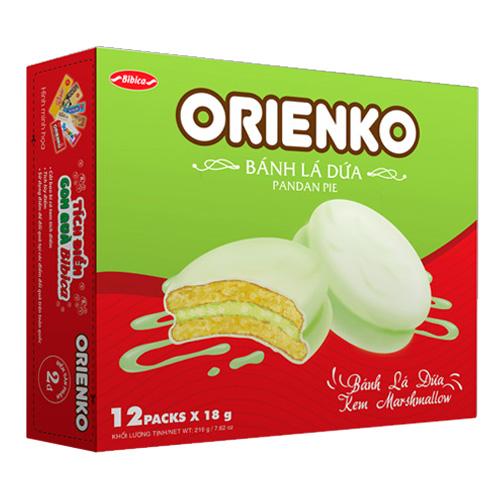 Bánh Lá Dứa Orienko 216 gam
