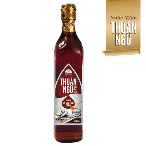 Nước Mắm Thuận Ngư 32 độ đạm chai 520ml