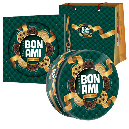 Bánh Cookies hộn hợp BON AMI CLASSIC 304 gam