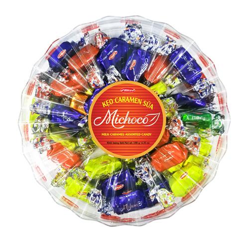 Kẹo mềm Michoco hộp nhựa Tia Sáng 180 gam