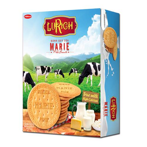 Bánh Quy sữa Marie Lurich Hộp giấy 270 gam