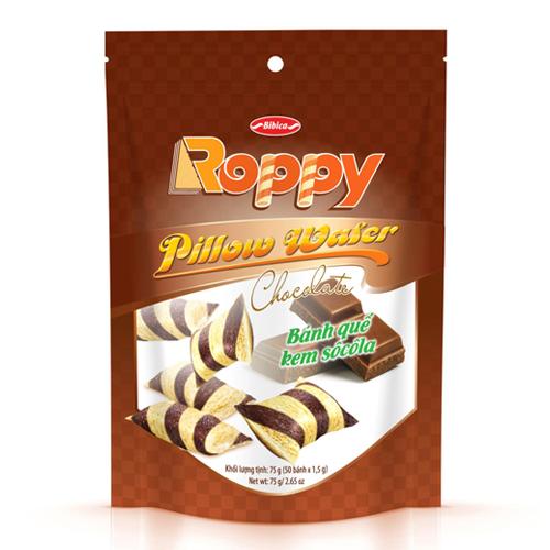 Bánh Quế kem hương Sôcola túi Zip 75 gam
