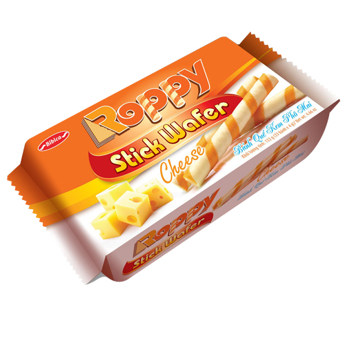 Bánh Quế kem Phô Mai túi 132 gam