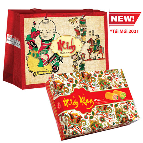 Bánh Hura Swissroll Minh Khang 396 gam