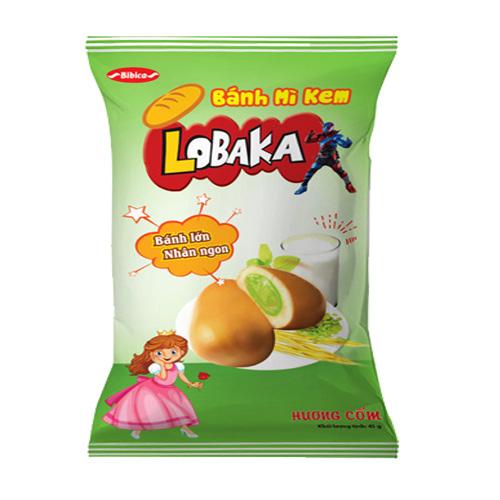 Bánh mì Kem hương Cốm LOPAKA 45 gam